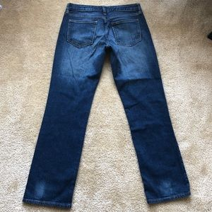 Gap Curvy Straight Leg Jeans 4/27A Short Ankle